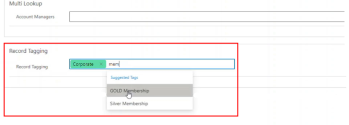 Record Tagging in Dynamics 365