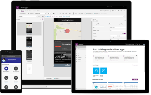 Building in PowerApps