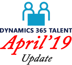 April 2019 Update - Talent