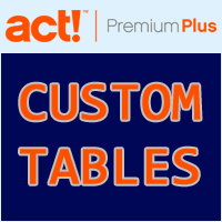 How to Manage Support Cases using Act! CRM Custom Tables