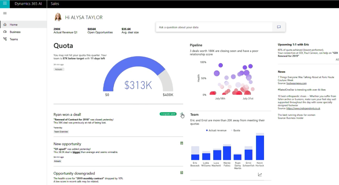 What's New in Dynamics 365 for Sales - October 2018 Update