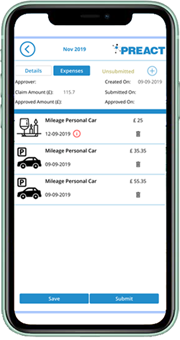 Expenses Mobile App