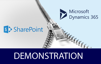 Demonstrating How Sharepoint Online Integrates with Dynamics 365