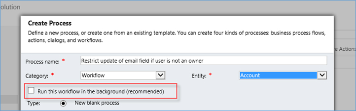 Microsoft Dynamics CRM Synchronous Real Time Workflows