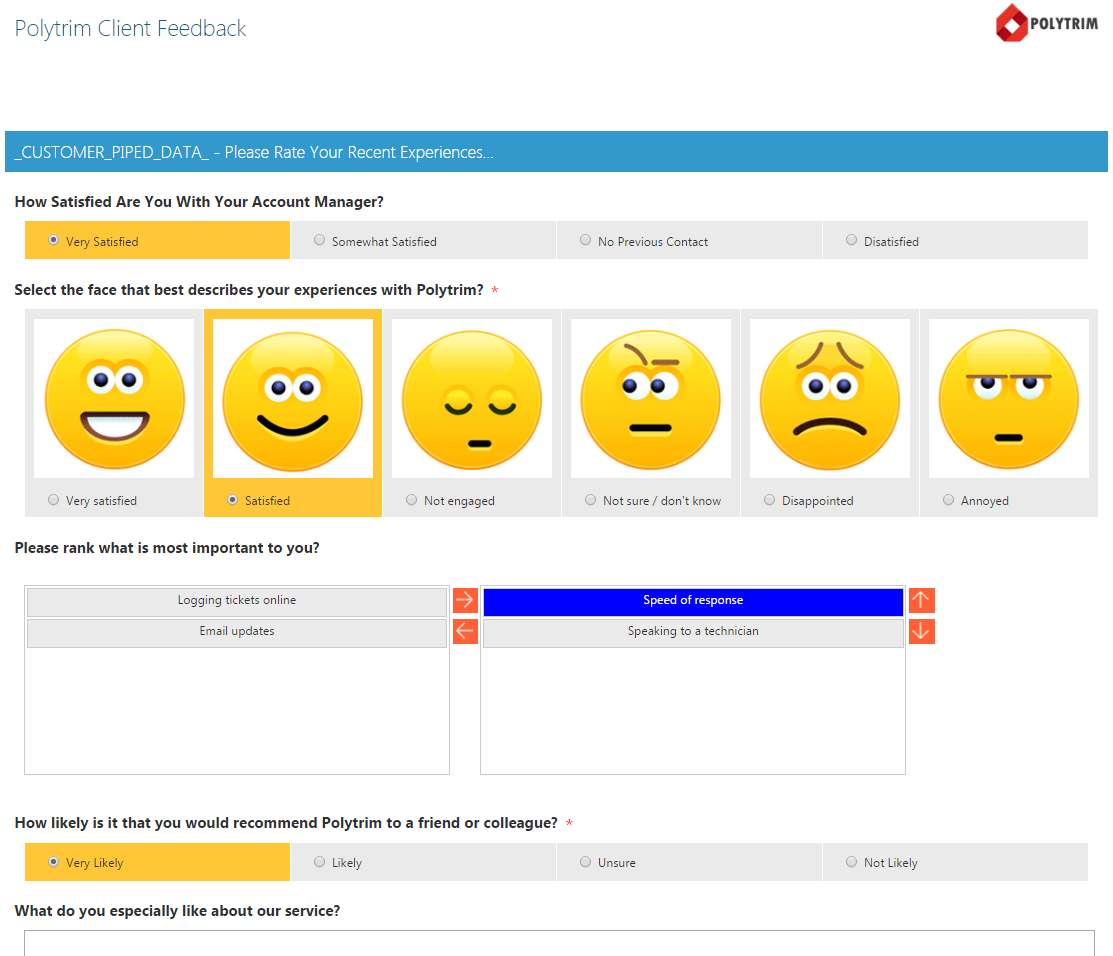 crm surveys comparing crm integrated surveys 3 voice of the customer 1867