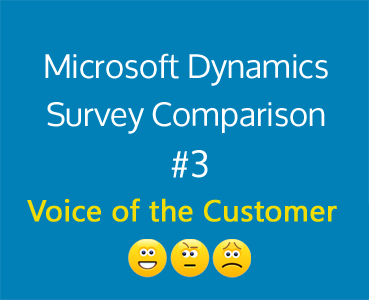 Comparing CRM Integrated Surveys: #3 Voice of the Customer